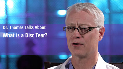 What is Disc Tear